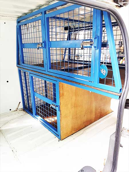 Canine Cage Craft dog build example 2