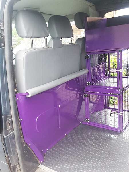 Canine Cage Craft dog build example 4