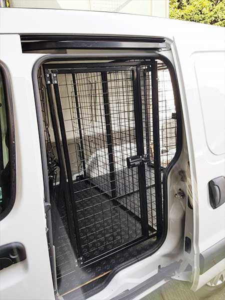 Canine Cage Craft dog build example 6