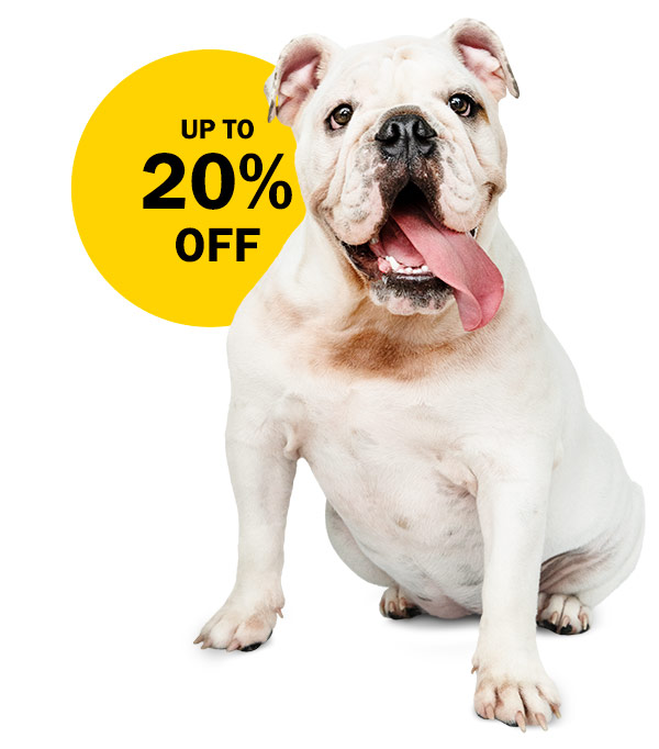 Up to 20% off your cage offer